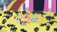 Main 6 defeated Changelings S02E26