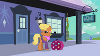 Ms. Harshwhinny checks her watch S03E12