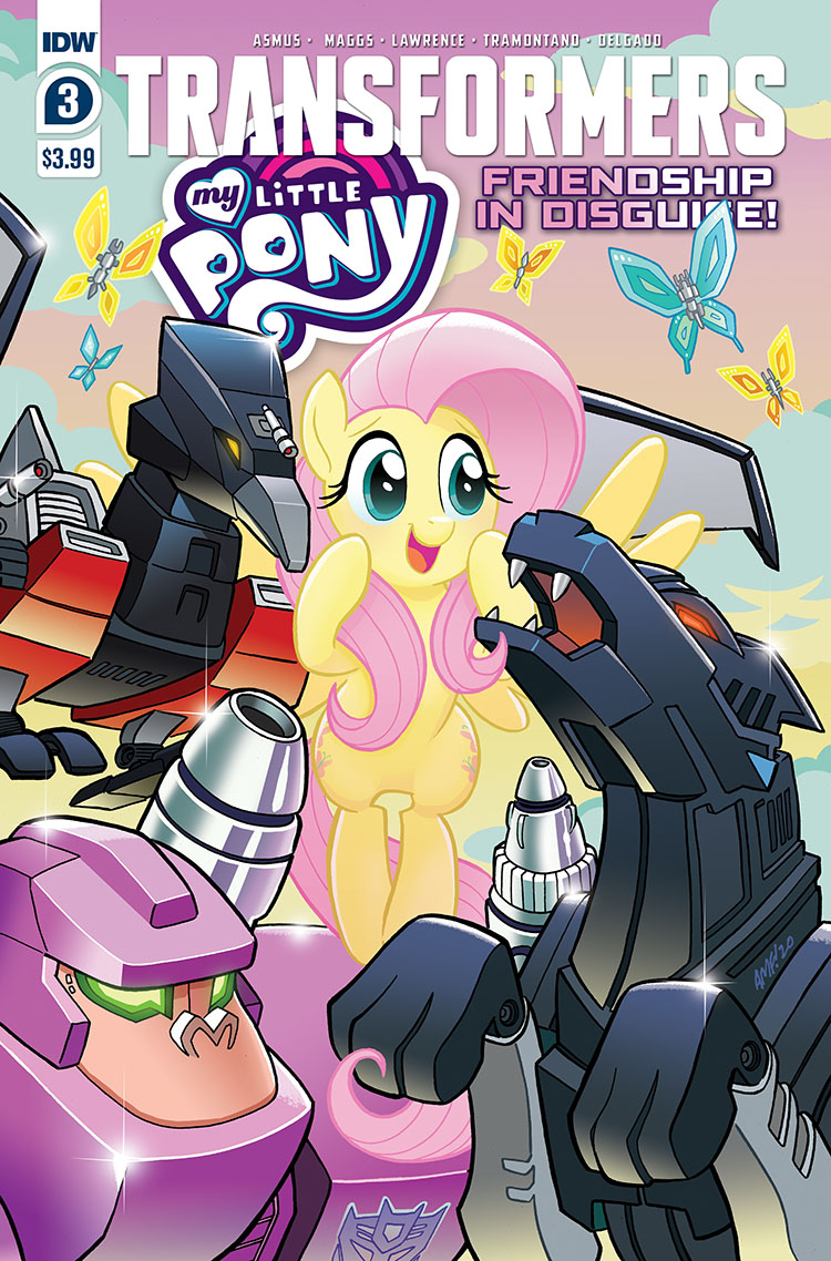 My Little Pony Transformers Issue 3