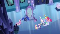 Ponies shocked by Luna's explanation EG
