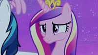 Princess Cadance worried about Twilight Sparkle S7E22