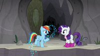 """Rainbow """"does this mean we're still friends?"""" S8E17"""