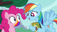 "Rainbow Dash ""gonna get a rainbow mouth"" S6E15"