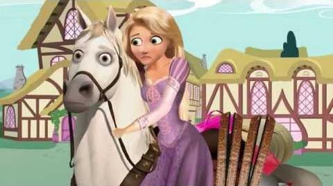 Rapunzel meets My Little Pony