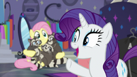 """Rarity """"why not try a new outfit?"""" S8E4"""