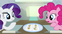 Rarity impressed with the presentation S6E12