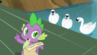 """Spike """"finish with a party in the castle"""" S9E13"""