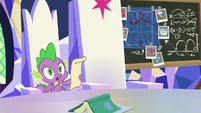 """Spike """"it's from Shining Armor"""" S9E4"""