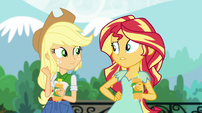 Sunset Shimmer -come up with a new plan- EGS1
