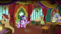 "Twilight ""see any librarian-type ponies"" S9E5"