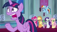 "Twilight Sparkle ""a few days?!"" S9E1"