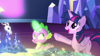"""Twilight Sparkle """"the map is really reaching out!"""" S7E15"""