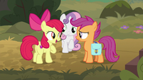 "Apple Bloom ""well, so are we!"" S9E12"
