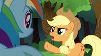 """Applejack """"their team can beat Ponyville"""" S6E18"""