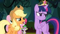 Applejack '...the rest of us aren't princesses' S4E02