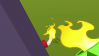 Cannon fuse being lit S8E20