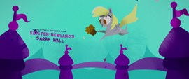 Derpy bouncing up with a muffin MLPTM
