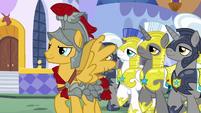 Flash Magnus leading the royal guards S8E21