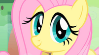 Fluttershy smile S01E22