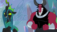 "Lord Tirek ""choose your words carefully"" S9E25"