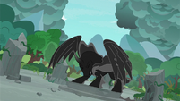 Pony of Shadows takes full physical form S7E25