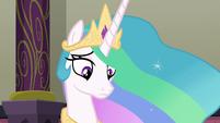 Princess Celestia gets interrupted again S8E1