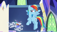 "Rainbow ""decided not to throw us overboard"" S8E1"