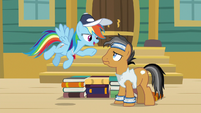 "Rainbow Dash ""or the fastest"" S9E6"