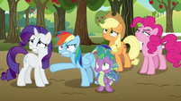 """Rainbow Dash """"they show up for this?"""" S9E13"""
