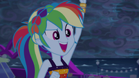 """Rainbow asks again """"who's with me?"""" EGSB"""