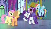 """Rarity """"how do I get it off?!"""" MLPS2"""
