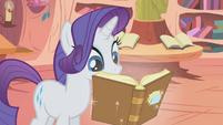 Rarity reading Slumber 101 S01E08