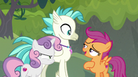 """Scootaloo """"I can think of a place"""" S8E6"""