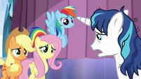"""Shining Armor """"more stressful than I ever thought"""" S6E1"""