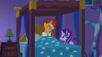 "Sunburst ""is it morning already?"" S7E24"