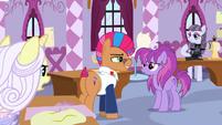Contest ponies upset at Applejack S7E9