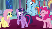 """Pinkie Pie """"I'm up for anything"""" S9E2"""