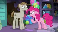 "Pinkie Pie mocking Mudbriar ""technically"" S8E3"