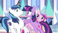 Princess Cadance sees weird S3E1