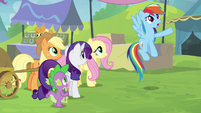 """Rainbow """"the only one in all of Equestria!"""" S4E22"""