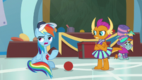"""Rainbow Dash """"because they don't"""" S9E15"""
