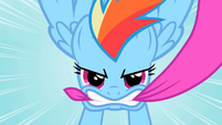 Rainbow Dash epic close up S2E10