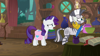 """Rarity """"I couldn't hear my own voice!"""" S8E11"""