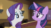 Rarity 'I offered to make all the costumes...' S4E08