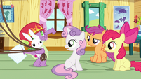 Spike making proposition S3E11