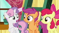 """Sweetie Belle """"are you sure you two got this?"""" S7E6"""