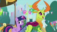 Thorax -aren't you coming-- S7E15