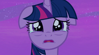Twilight Sparkle getting teary-eyed S7E22