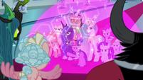 Twilight and friends resist the Legion S9E24