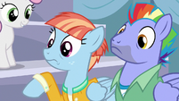 Bow and Windy worried about Rainbow again S7E7